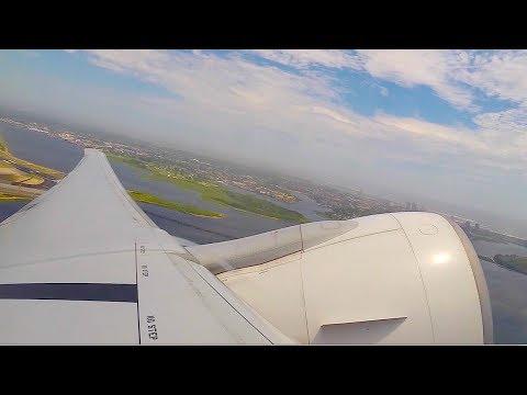 Japan Airways Boeing 777-300 Takeoff JFK New York (HD) (GoPro)