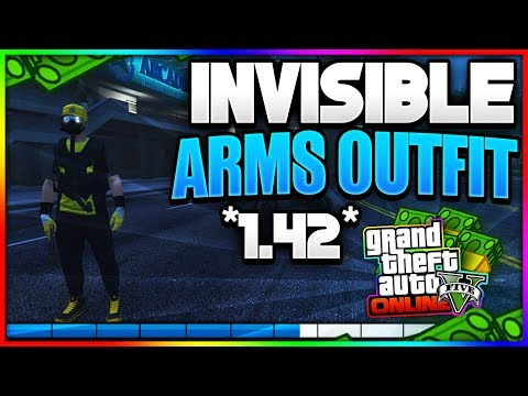 *NEW* - INVISIBLE ARMS GLITCH + OUTFIT (INVISIBLE CLOTHING GLITCHES) AFTER PATCH 1.42