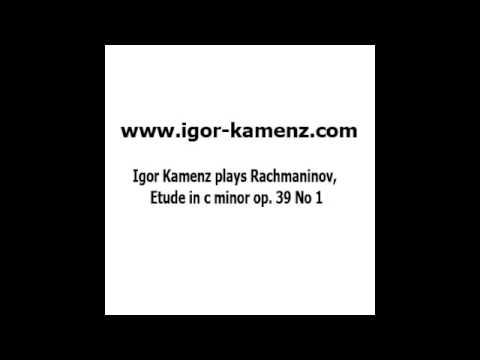 Igor Kamenz plays Rachmaninov , Etude in c minor, op 39. No. 1