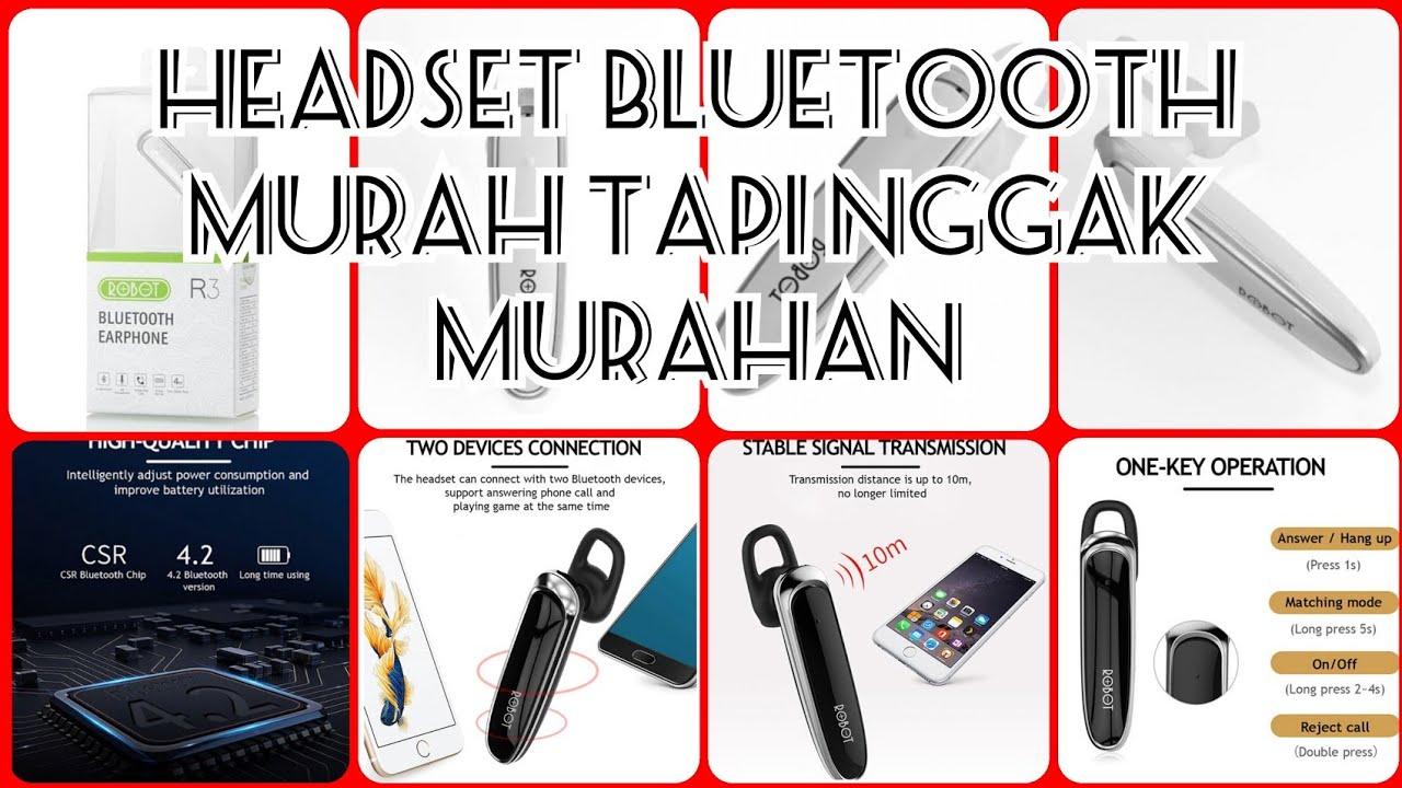 Unboxing Headset Bluetooth Robot R3 Dan Cara Pemasangannya Headsetbluetooth Robotr3 Youtube