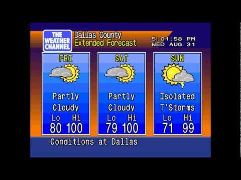 Dallas (Love Field) weather - 8/31/2011 at 5:00 PM