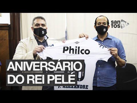 SANTOS FC E PREFEITURA – AÇÕES DE ANIVERSÁRIO DO REI PELÉ