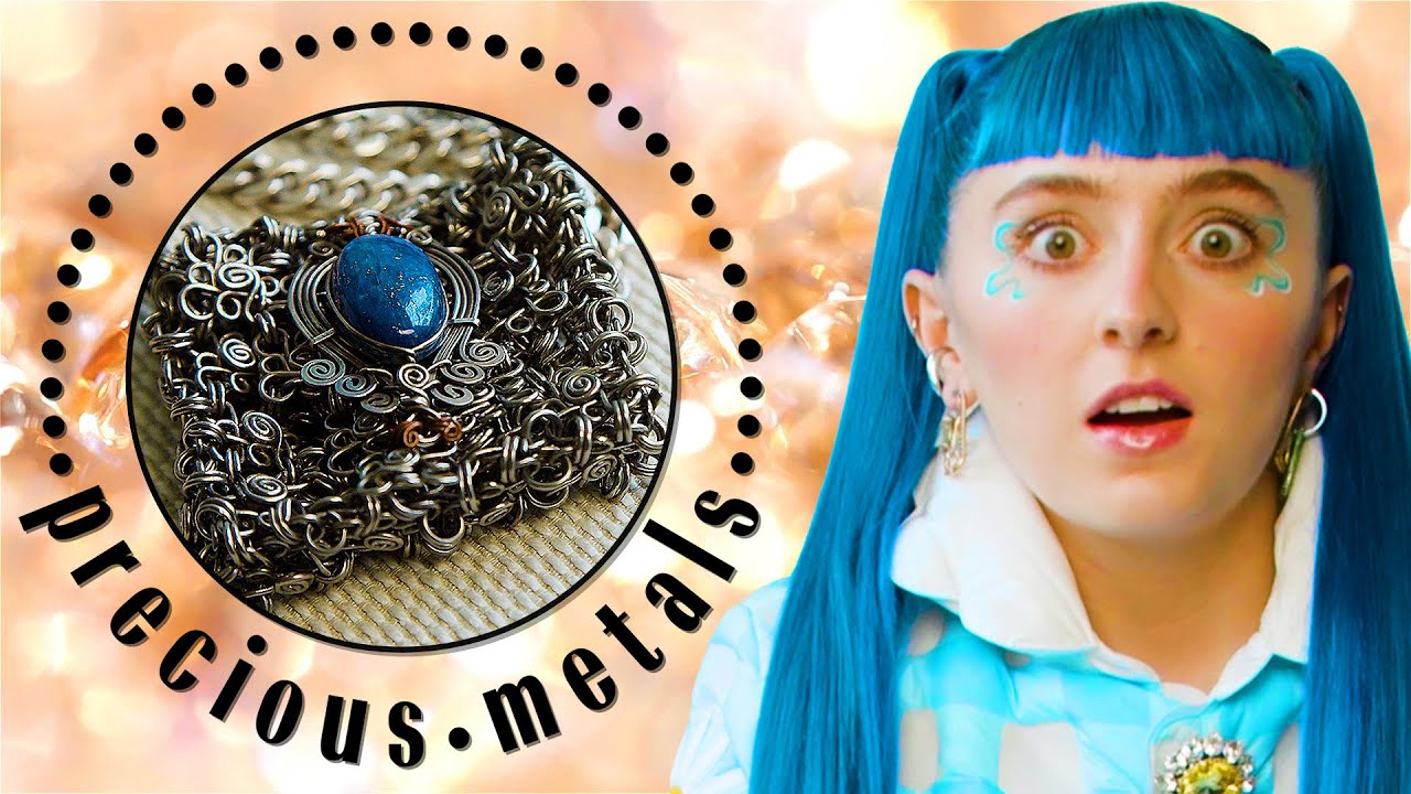 Ashnikko Shows Off Her Eye-Popping Jewelry Collection | Precious Metals | Marie Claire
