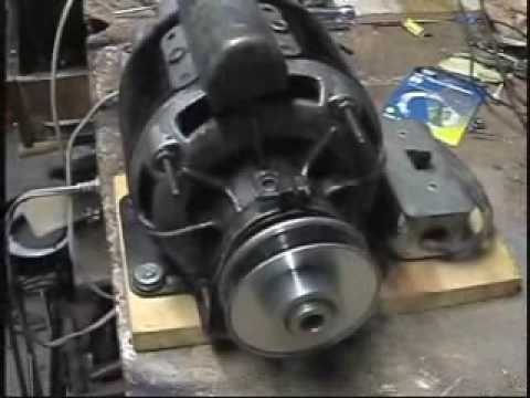 Ac Motor Schematic Diagram Old General Electric 1 3hp Motor Youtube