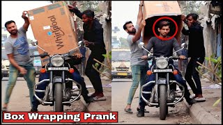 BOX WRAPPING PEOPLE PRANK - EPIC REACTIONS| PRANKS IN INDIA 2019| BY TCI