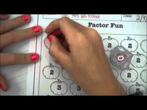 Factor Fun   5th Grade Math Game