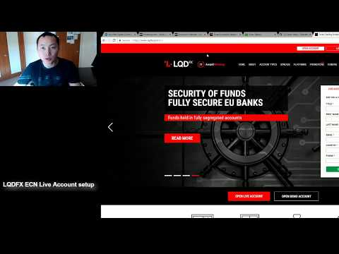 How To Open And Set Up LQDFX ECN Account With Bitcoin