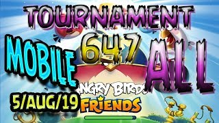 Angry Birds Friends All Levels MOBILE Tournament 647 Highscore POWER-UP walkthrough #AngryBirds