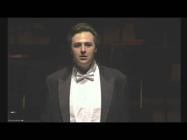 Joshua Owen Mills Tenor Sings Bleuet by Poulenc