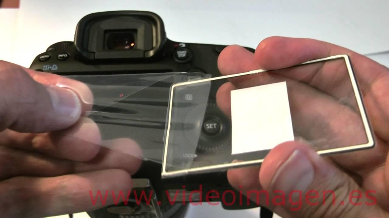 Protector Pantalla para Canon EOS 5D Mark III Cristal Mate Lamina de Vidrio