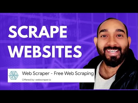 How To Extract Multiple Web Pages By Using Google Chorme Web Scraper Extension