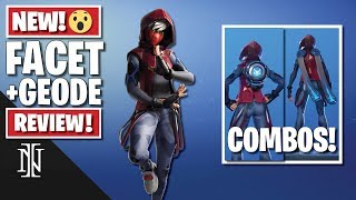 FACET Skin Review in Fortnite | BEST COMBOS
