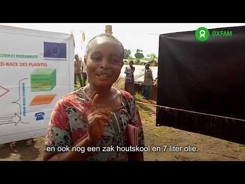 Noorhulpprogramma Oost Congo: Wat gebeurt er wanneer je hen cash geld geeft?