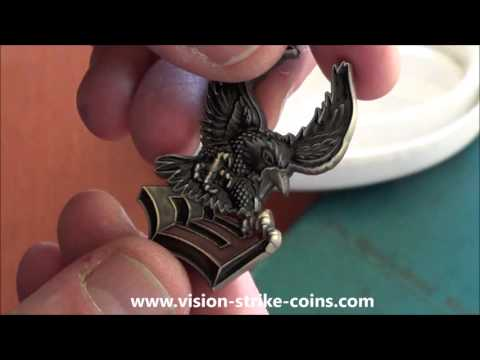 US Navy 1st Class Petty Officer Crow Coin From Vision-Strike-Coins!