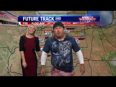 Donnie Baker Does Weather