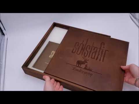 Sólstafir unboxing limited edition wooden box