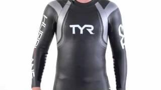 TYR Men's Hurricane Category 3 Triathlon Wetsuit 2010