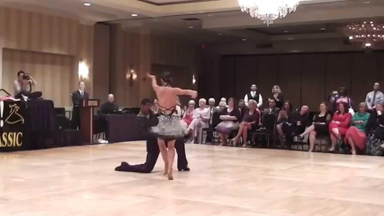 emmanuel and liana swing - YouTube