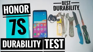 Honor 7s Durability Test | Scratch Test,Bend Test ,Flame Test