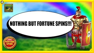 Nothing But FORTUNE SPIN SLOTS!!