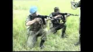 Обучение принятию положения для стрельбы с колена,стрельба с колена.