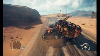 Mad Max - Gameplay (Train route)