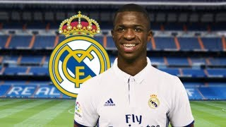 Vinicius Junior ficha por el Real Madrid - 23/05/2017