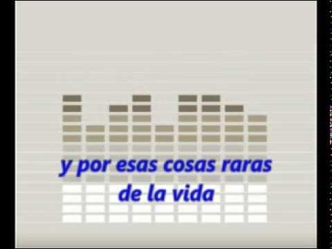 QUE NADIE SEPA MI SUFRIR - KARAOKE - Julio Iglesias - amar.mpg