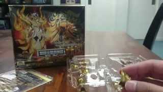 4am - Bandai Saint Seiya Myth Cloth EX Leo God Cloth (Assembly + Review)