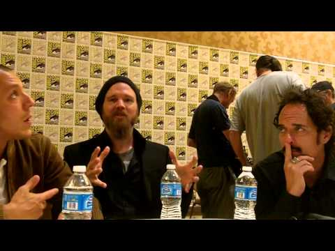 'Sons of Anarchy' Theo Rossi, Ryan Hurst & Kim Coates at Comic-Con