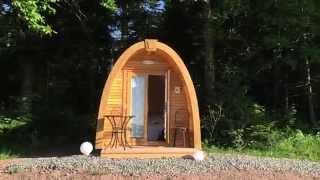 Glamping im Podhaus im Schwarzwald