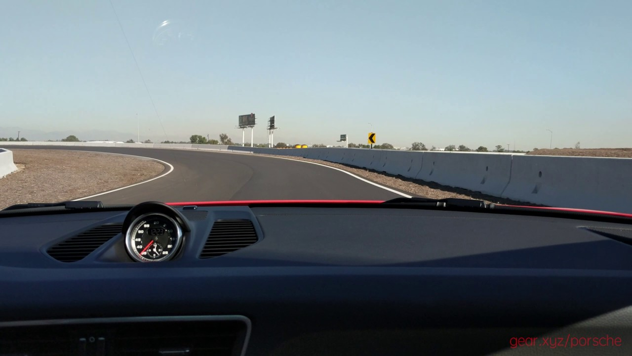 Porsche Experience Center, LA: Track time! - YouTube
