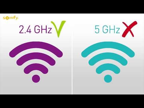 Configuration du wifi de la passerelle du thermostat connecté