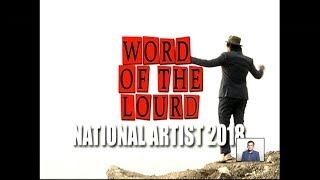 #WordOfTheLourd | National Artists