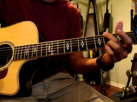 Chris Tomlin - I will lift my hands ACOUSTIC LESSON - YouTube