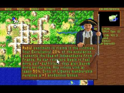 How to: Get around, Survive and WIN Sid Meier's Colonization (1994)
