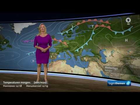 Claudia Kleinert Wdr Aks Wetter Im Roten Fast Minikleid - AgaClip - Make Your Video Clips