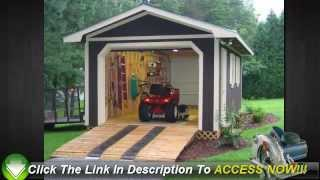 Free Shed Plans - Learn How To Build A Shed Easily - Shed Designs