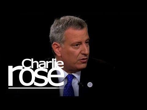NYC Mayor De Blasio on His Housing Plan   Charlie Rose