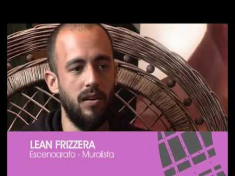 "Street art - Lean Frizzera : Buenos Aires  ""Buscando Paredes"""