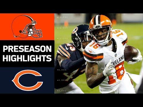 Browns vs. Bears | NFL Preseason Week 4 Game Highlights