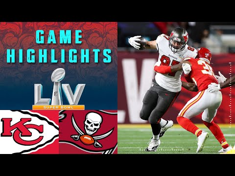 Chiefs vs. Buccaneers | Super Bowl LV Game Highlights