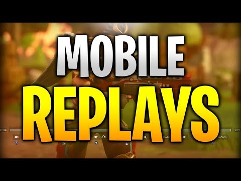 How To Get ReplayMode In Fortnite Mobile (glitch)