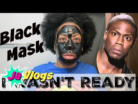 PEEL OFF BLACK MASK | I WASN'T READY...