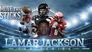 Lamar Jackson's Draft Profile & High School Highlights: Mike Vick 2.0   Move the Sticks 360 Series