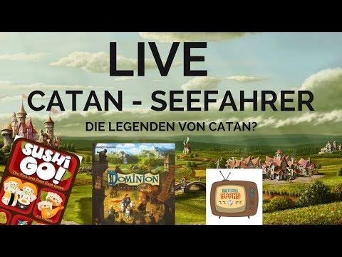 Catan Seefahrer Jubiläums-Edition | Dominion | Sushi Go! | Wir Fahren Nicht Zur Berlincon :(