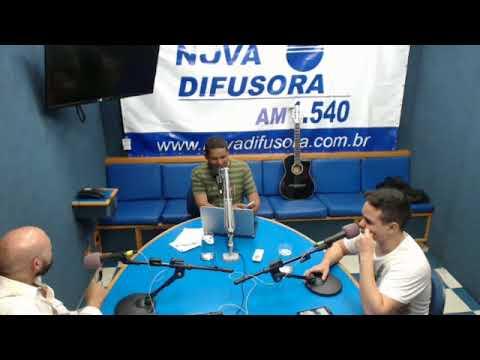 Kevin Tinti ao vivo na Radio Nova Difusora -Programa Wellington de Andrade
