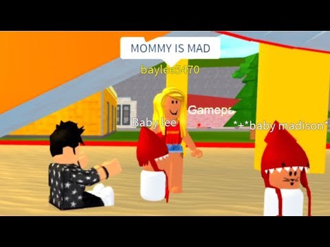 Roblox - Raising Two Naughty Babies (and a Mental Mother)