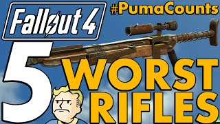 Top 5 Worst Rifles and Snipers in Fallout 4 PumaCounts