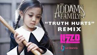 Truth Hurts - Lizzo - Wednesday Addams Family Rap Remix Cover - by 6 YR OLD Parody Clean Lyrics